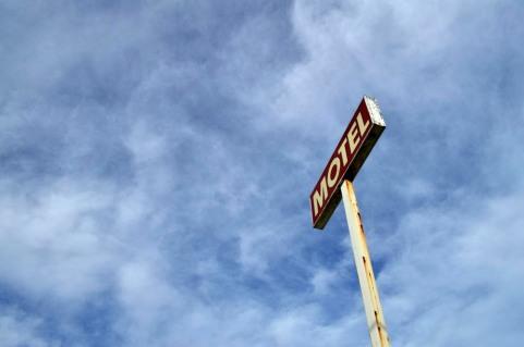 #motel sign