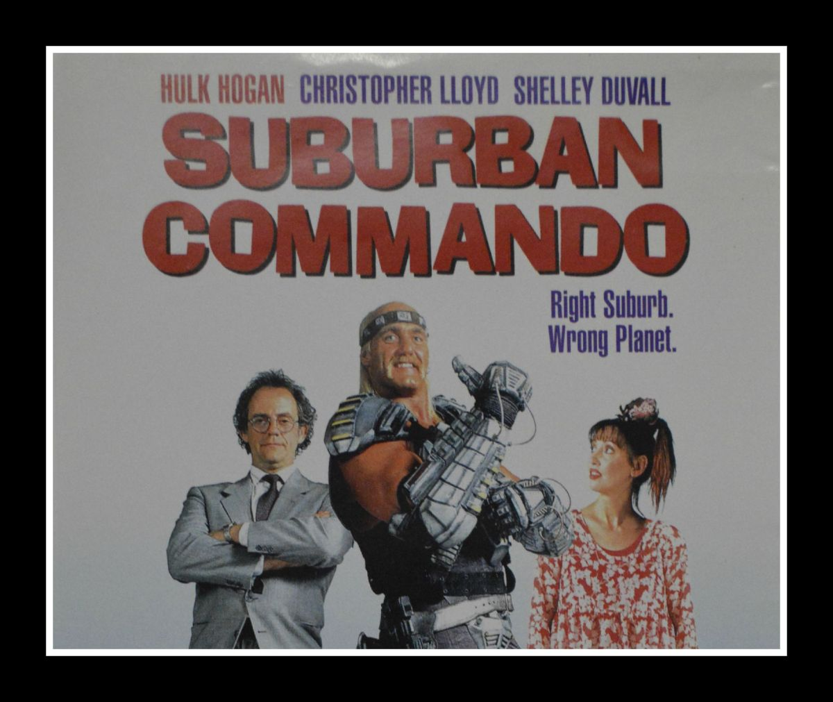 Weekend Movie – Suburban Commando
