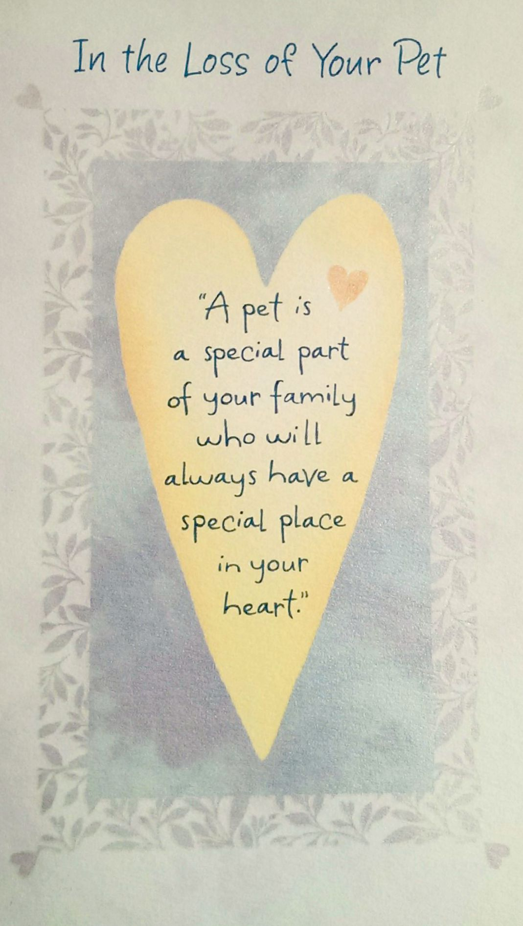 Image Result For Sympathy Cards Pets
