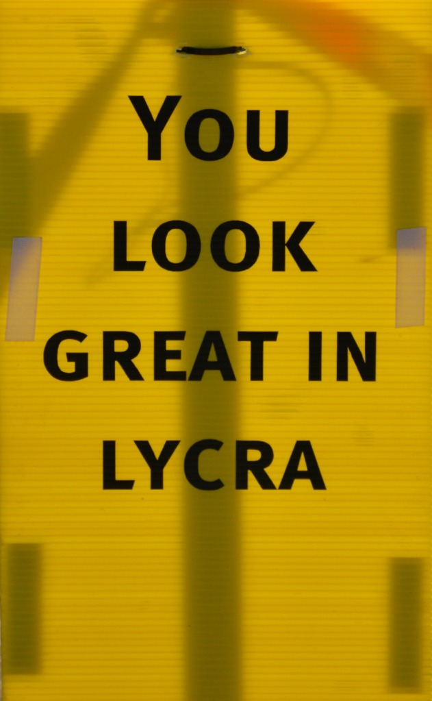 You look great in Lycra #Fahrrad #bycicle #cycling be kitschig blog #outback