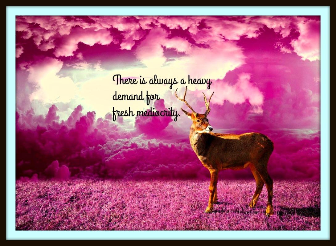 #Gaugin #deer #kitsch