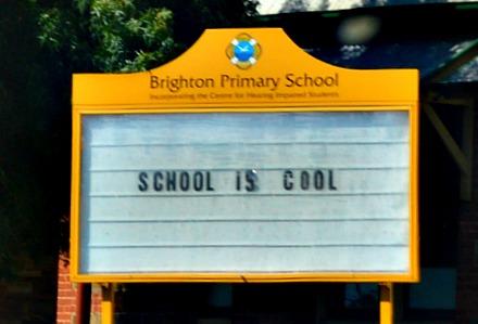#school #cool #kitsch