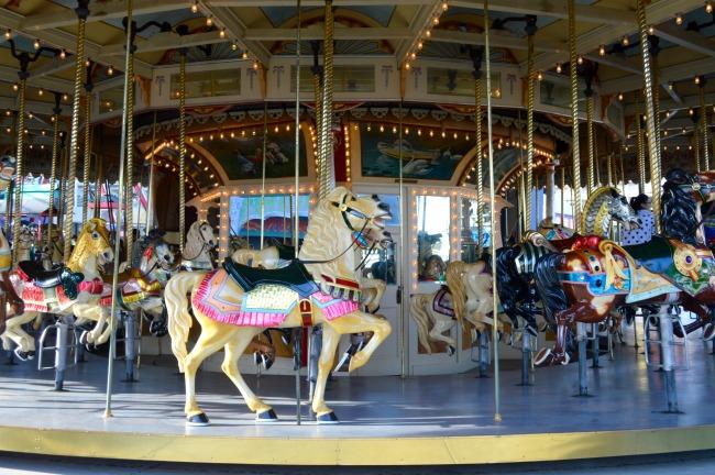 #Vintage #Ride #carousel #lunapark #heritage