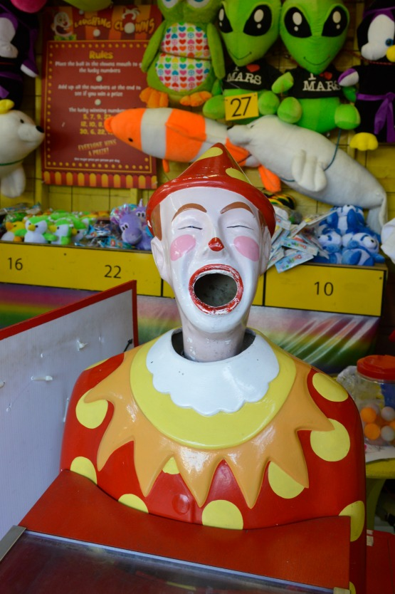 #Fair #clown #rummel #lunapark #melbourne