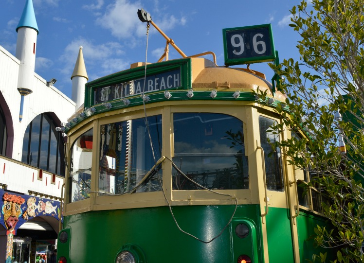 #St Kilda #Street car #lunapark #melbourne