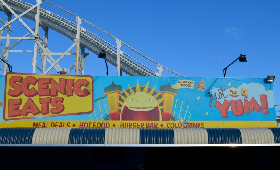 #vintage #hot dog #lunapark #melbourne #bekitschig
