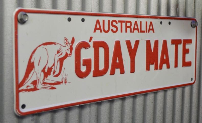 #mate #sign #australia
