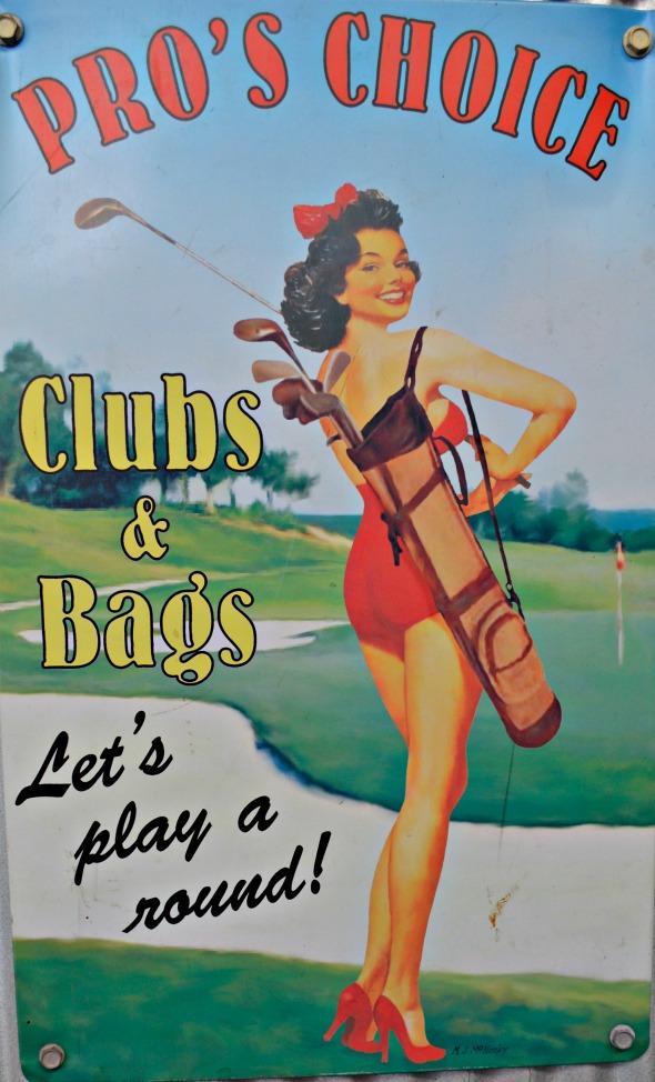 #retro #golf #sign #australia be kitschig blog