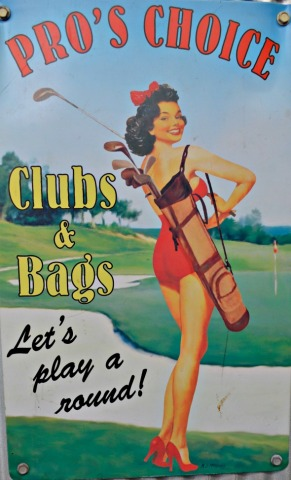 #retro #golf #sign