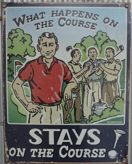 #funny #sign #golf