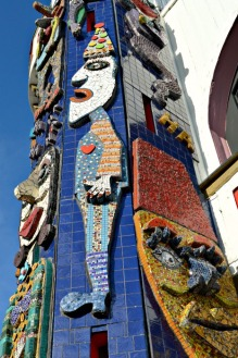 Mosaic Luna Park Clown