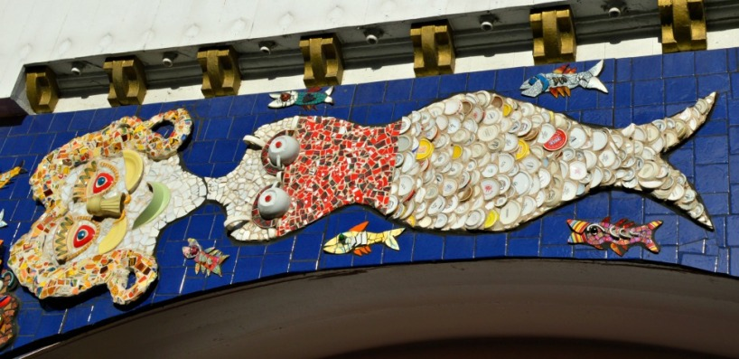 Mosaik Luna Park Mermaid