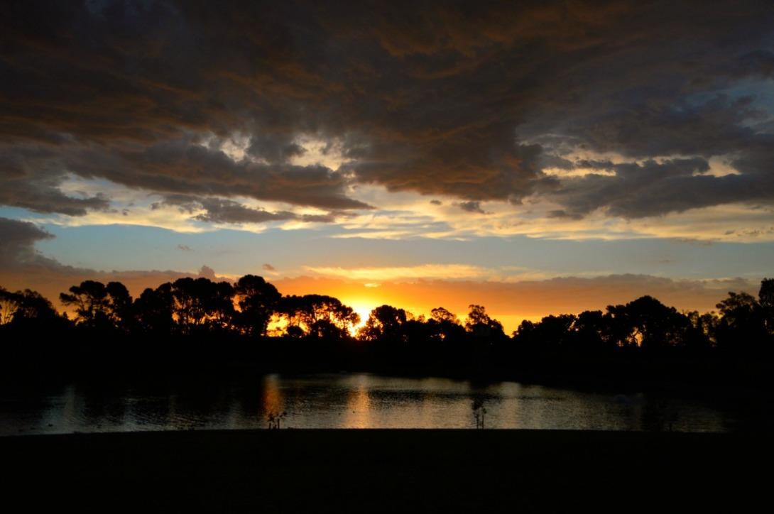 #Australien #Sonnenuntergang