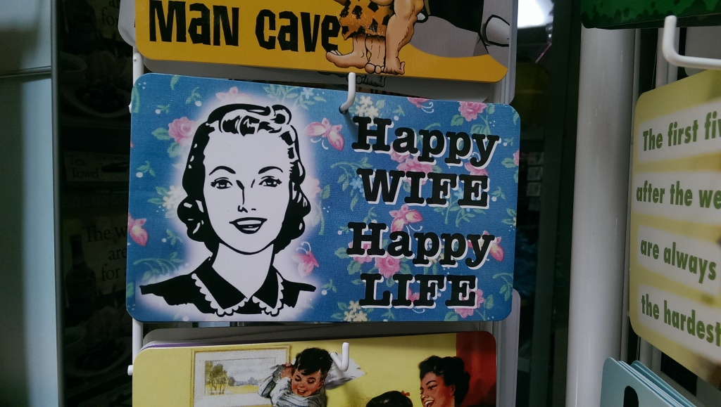 Happy Wife Happy Life #sign be kitschig blog