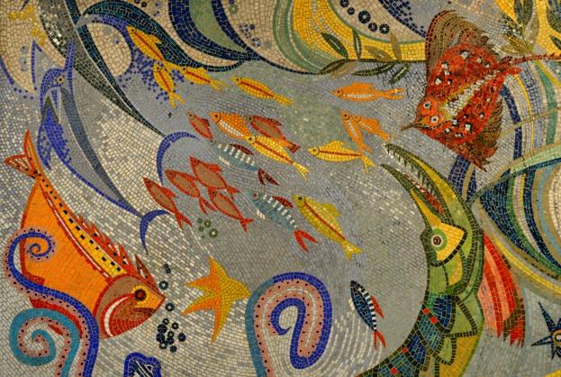 Mosaik Berlin mosaik berlin tierpark fish be kitschig