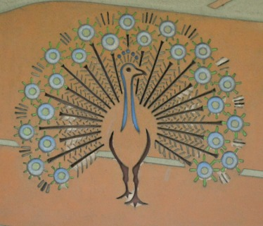 #GDR #art #peacock