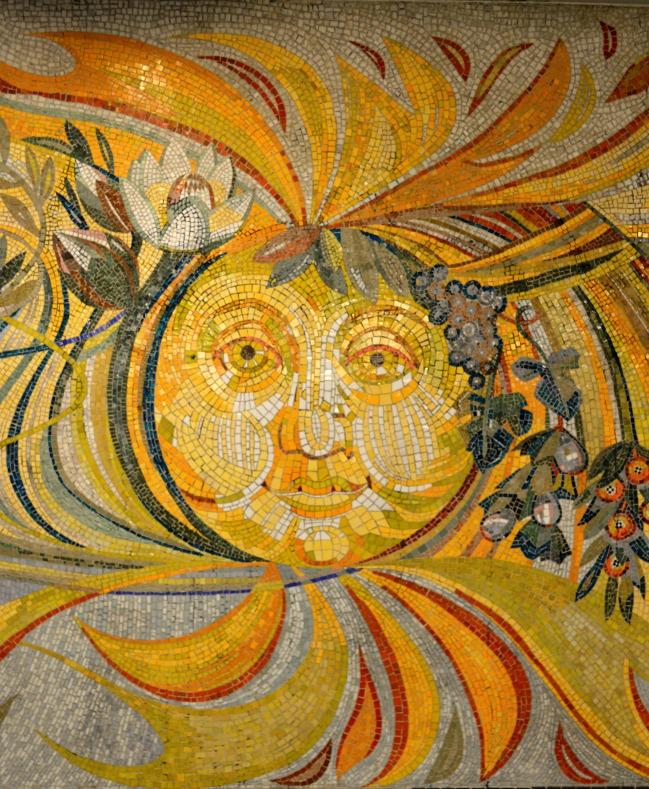 #sun #Sonne #mosaic