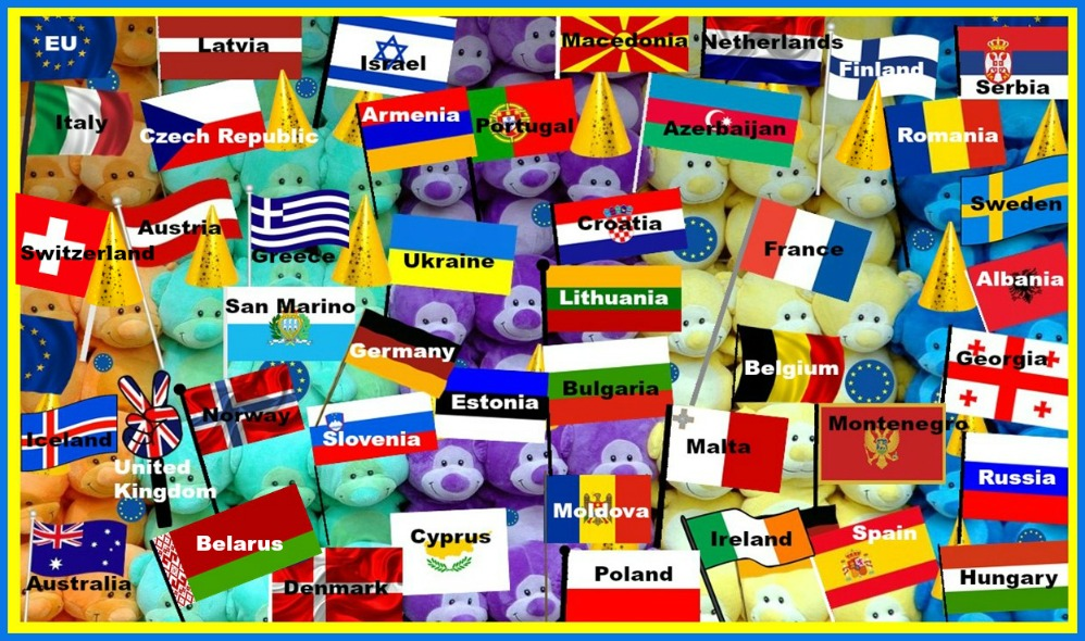 #Eurovision #Esc #competitors