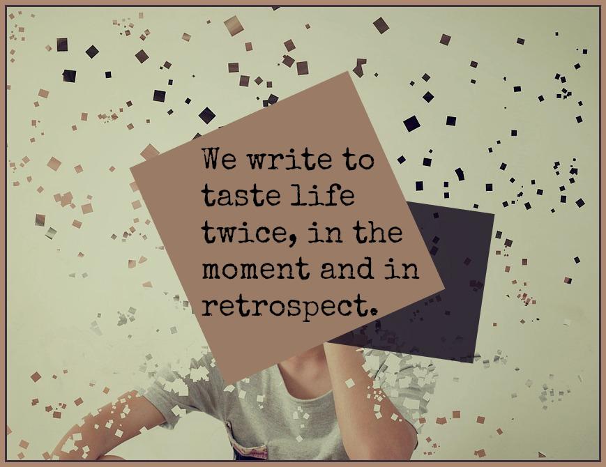 #Life #quote #writing Anais Nin