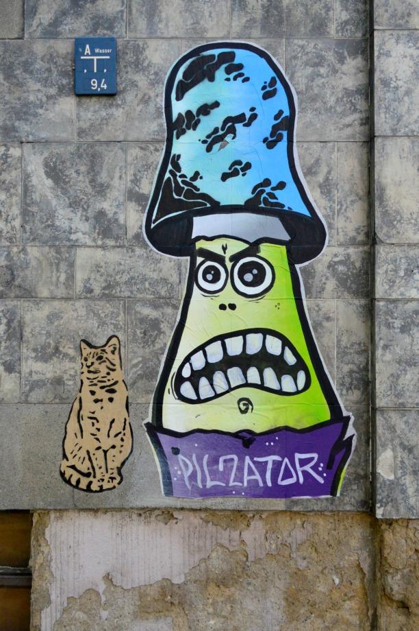 Pilzator Berlin Pankow bekitschig #streetart