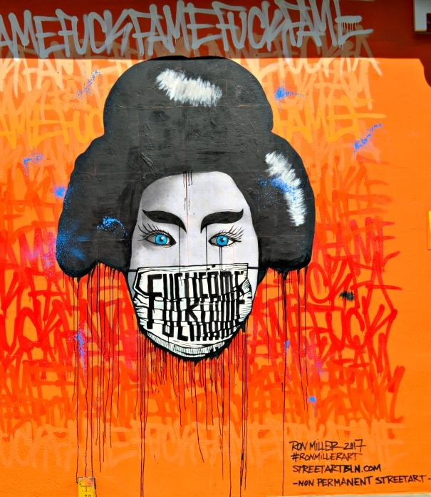 Ron Miller Fuck Fame Street Art Berlin Prenzlauer Berg