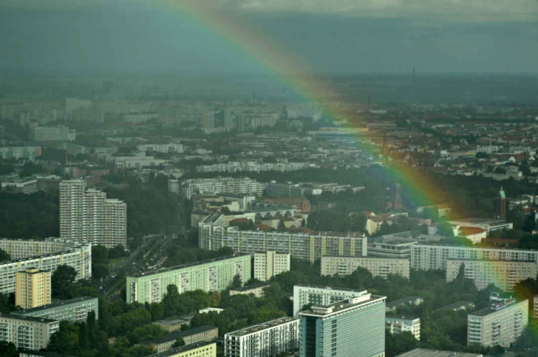 Berlin Alexanderplatz vom Fernsehturm