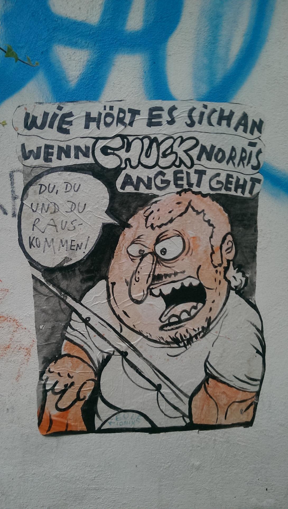 Keule Comix Street art berlin be kitschig blog