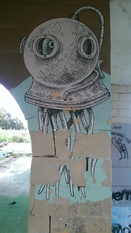 malta street art White Rocks be kitschig blog