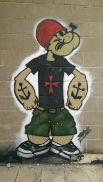 street art lost spaces be kitschig street art