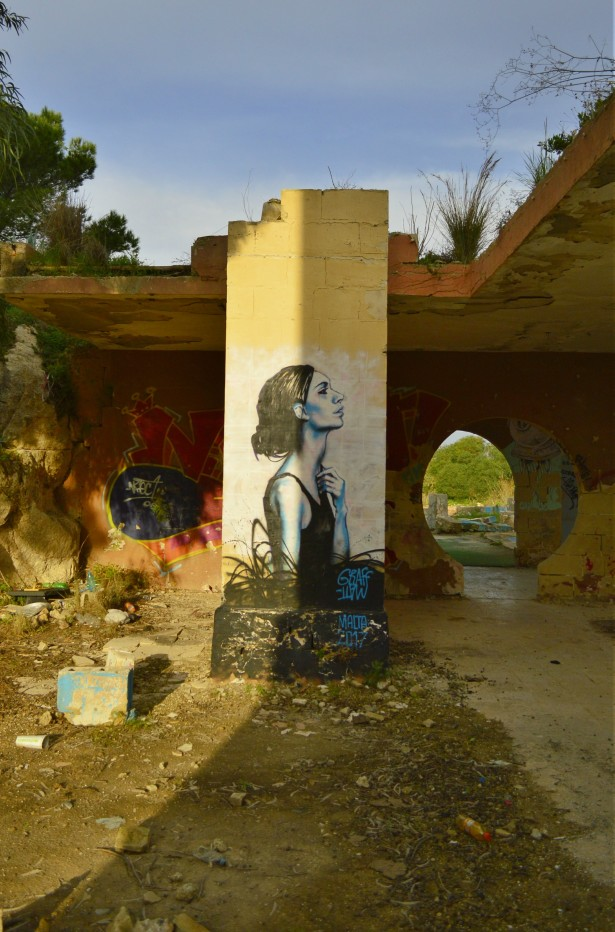 Graff Matt Malta be kitschig street art