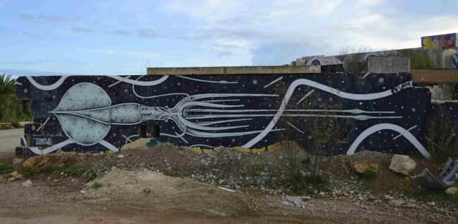 mural street art lost spaces resort malta