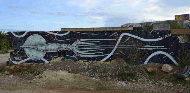 mural street art lost spaces resort malta