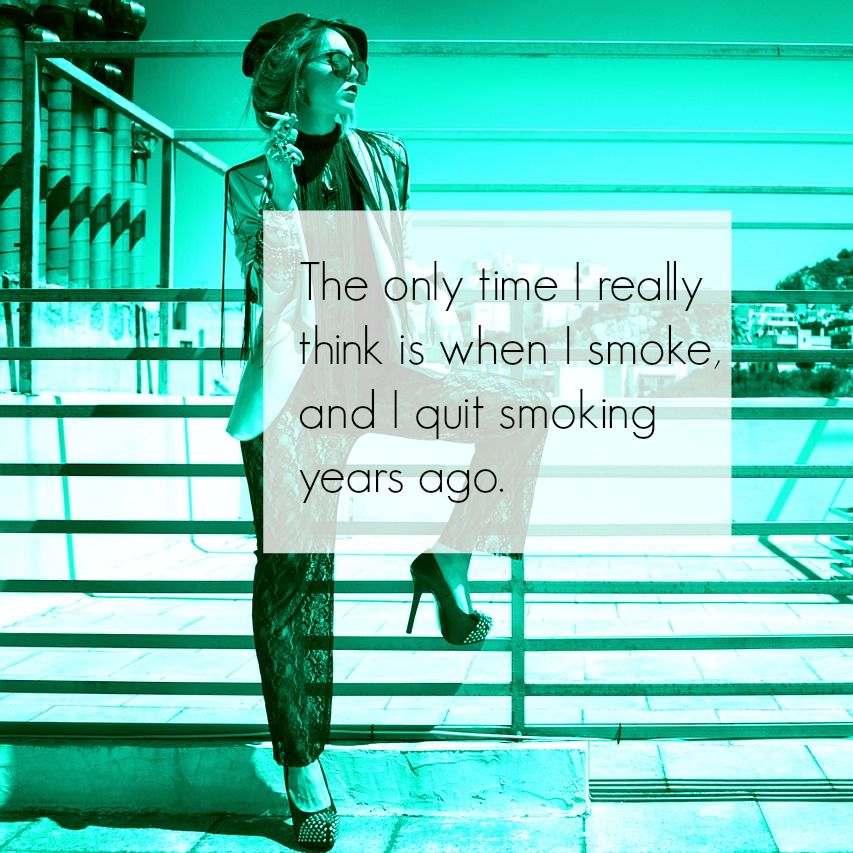 #quote#smoking #kitsch #kitschig