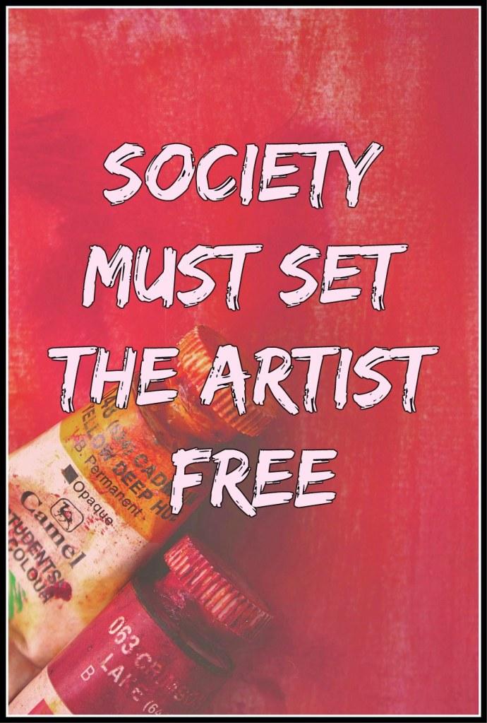 #Einstein #quote Society must set the artist free