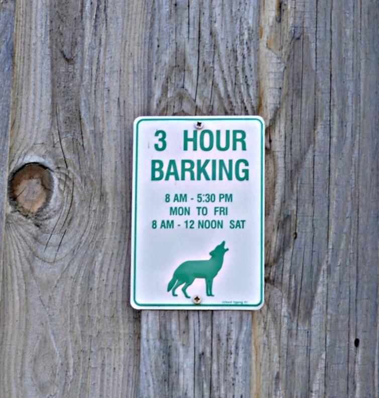 Spiesser auf dem Land #sign #hund #schild #dog be kitschig blog
