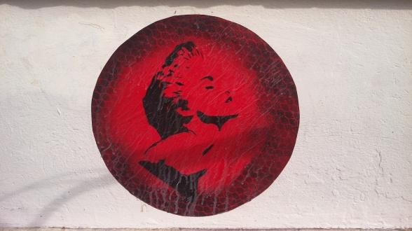 #Madonna #streetart #berlin #bekitschig #blog Word Press