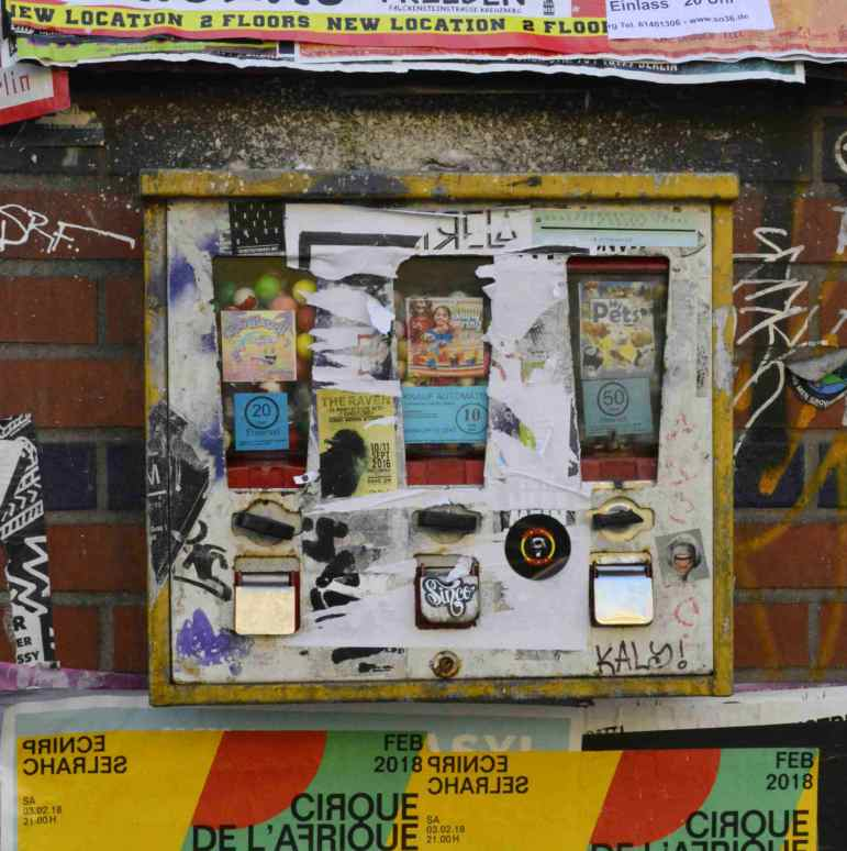 Kaugummiautomat Berlin Kreuzberg Fotografie be kitschig