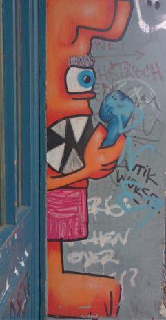 Strassenkunst in Berlin Prenzlauer Berg