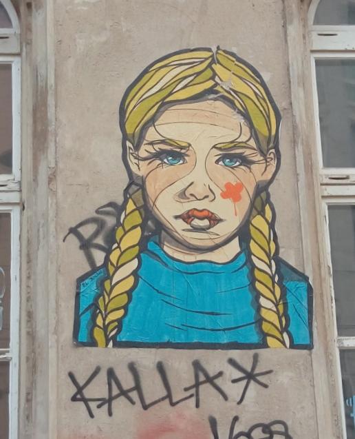 #zopf #streetart #berlin #kunst #elbocho #bekitschig