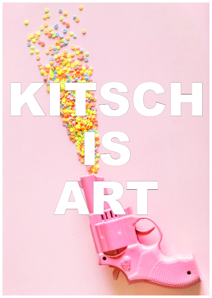 Kitsch is art that follows established rules in a time when all rules in art are put into question by each artist. #quote be ktschig blog