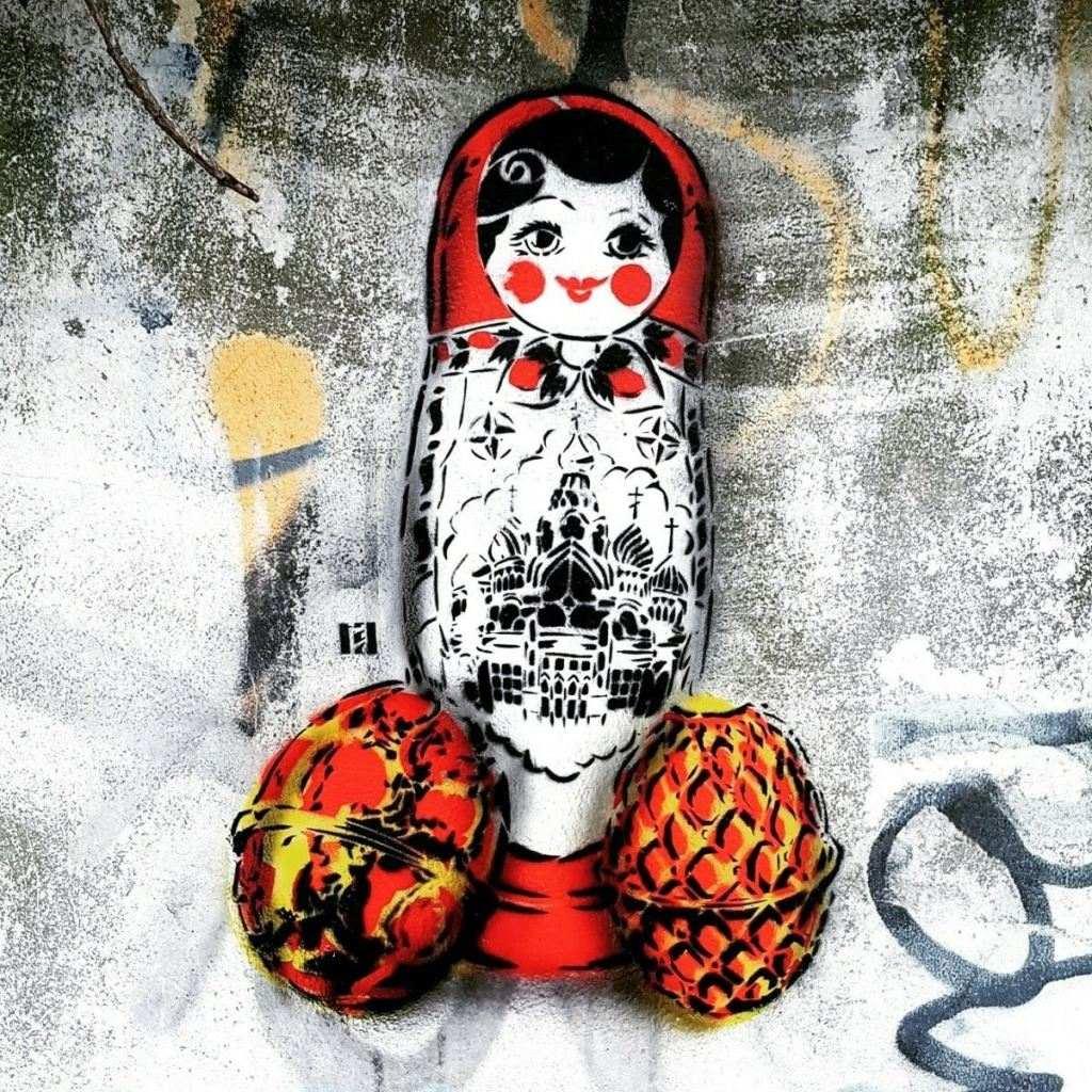 #matroschka #matrjoschka #ostap #berlin #streetart be kitschig blog