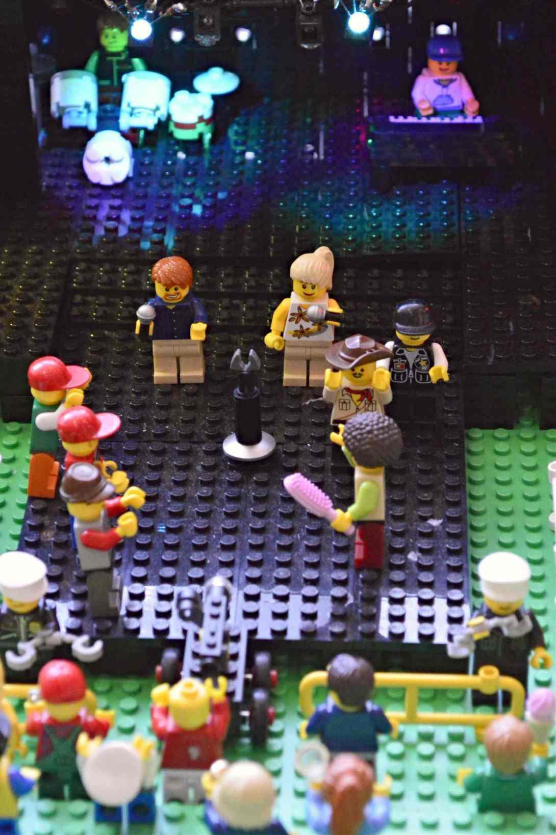 be kitschig blog Lego Love festival concert