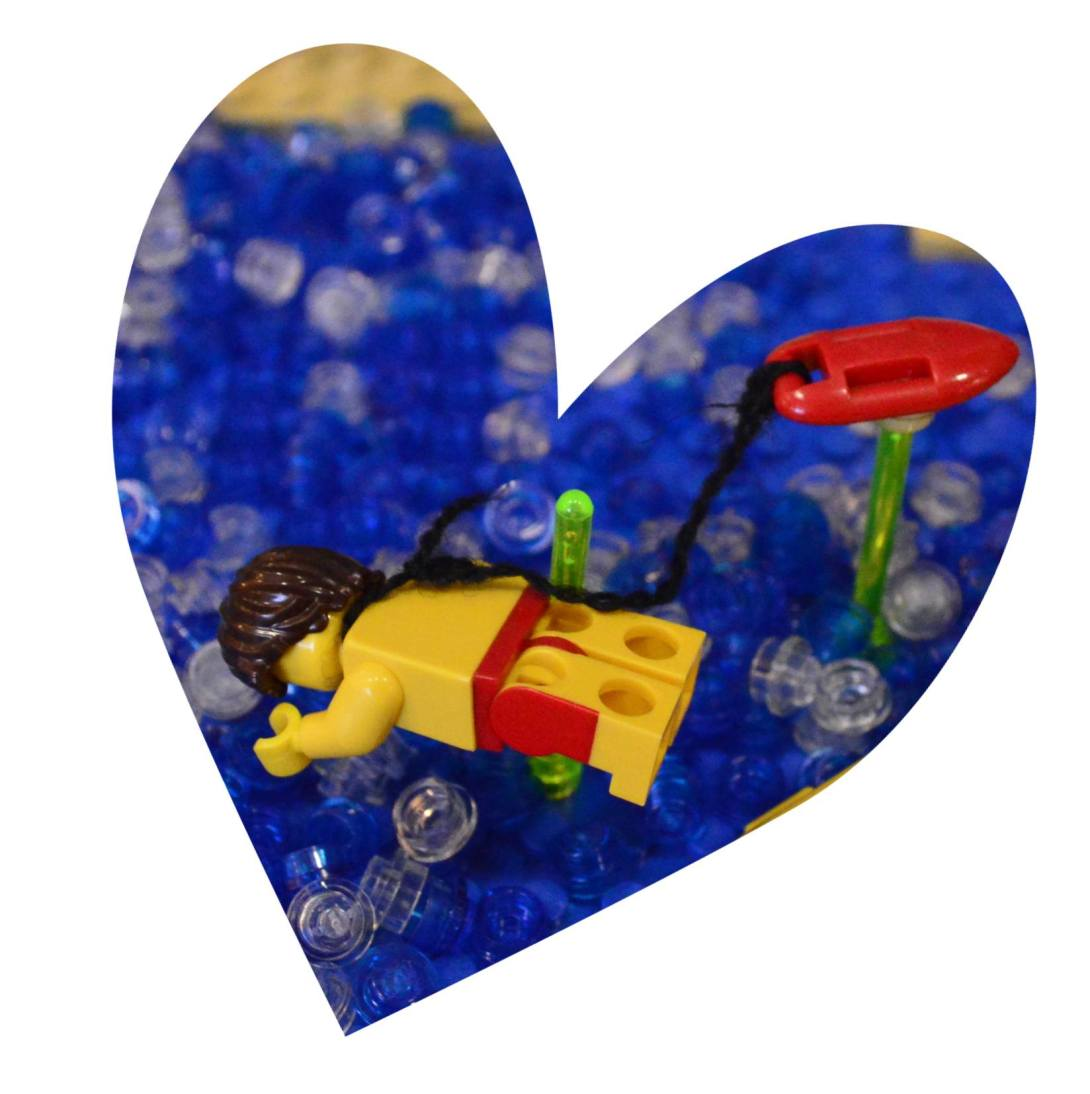 be kitschig blog Lego Love Baywatch