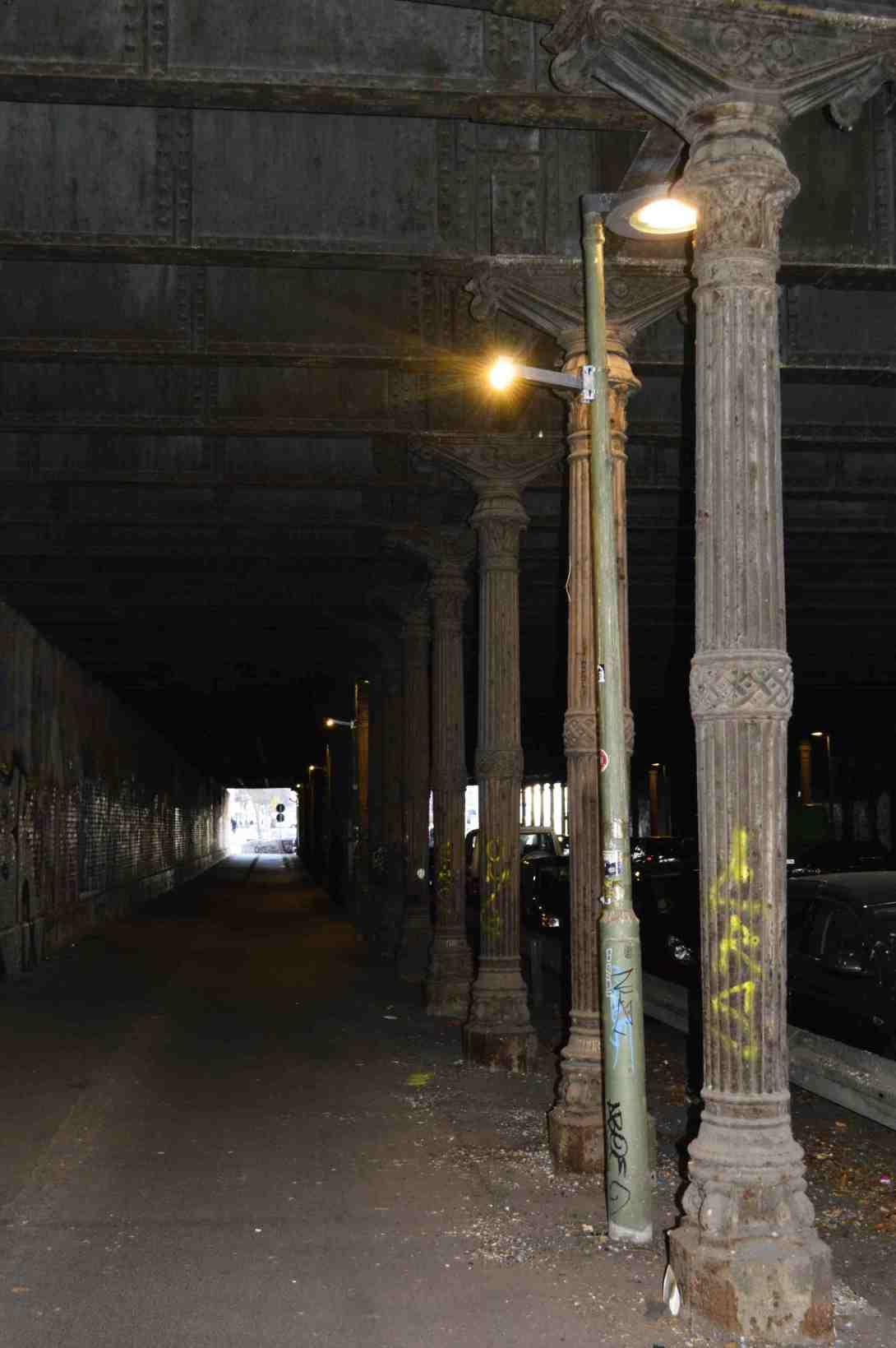 Gleimtunnel bei Tageslicht Rettet Mauerpark Petition