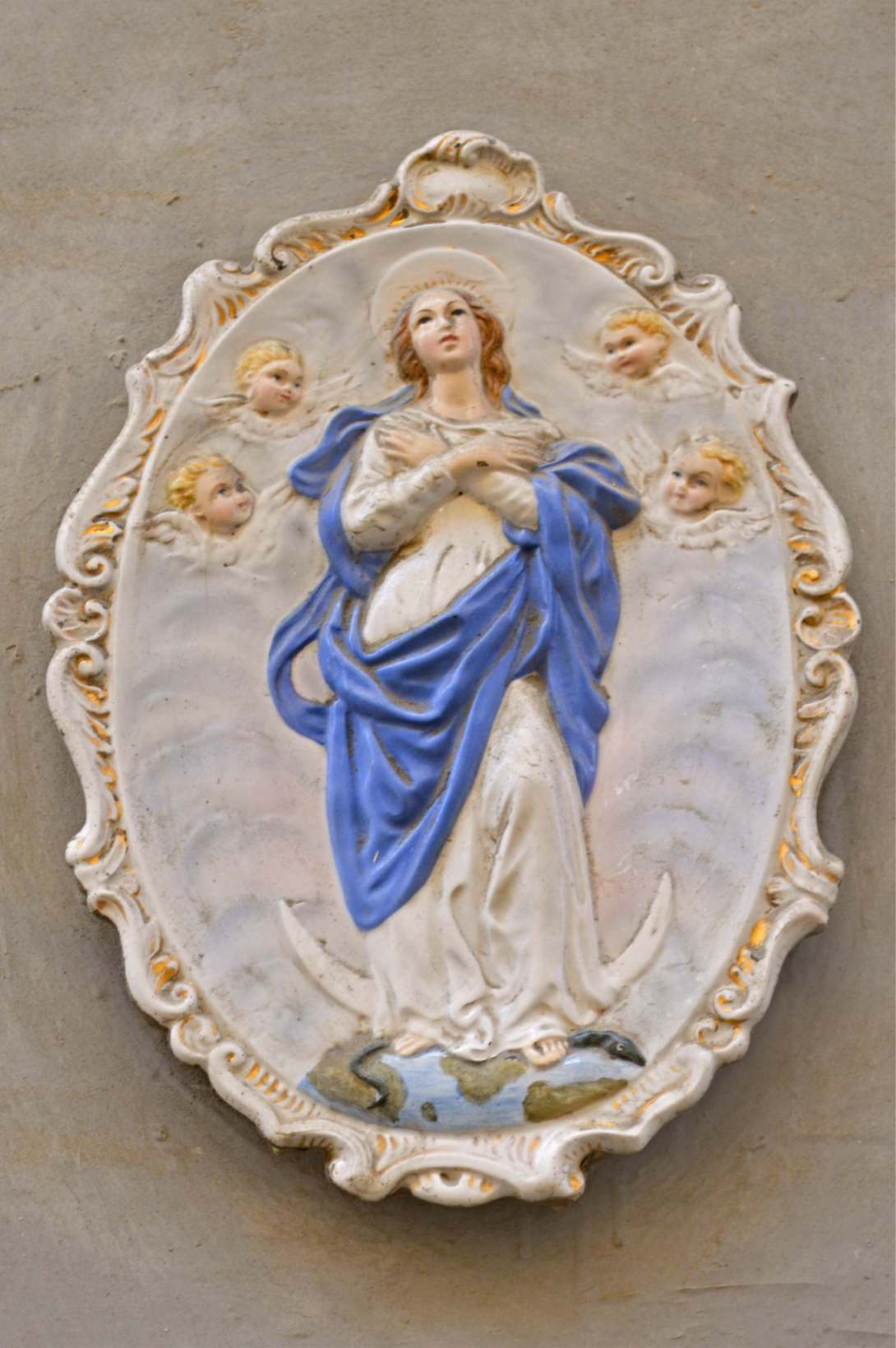 Maria Statuen auf Malta