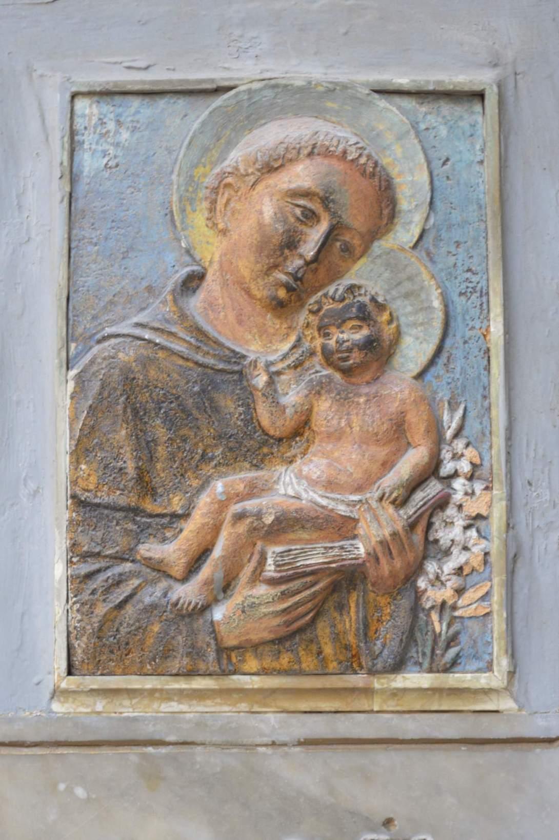 Maria und Joseph Wand Deko Malta