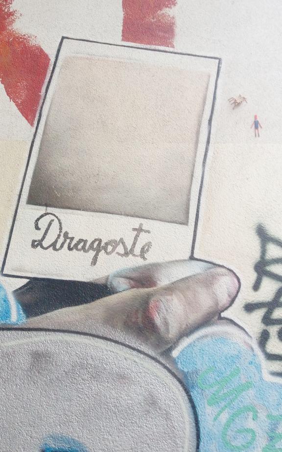 Dragoste Polaroid streetart urbanart be kitschig blog berlin prenzlauer berg