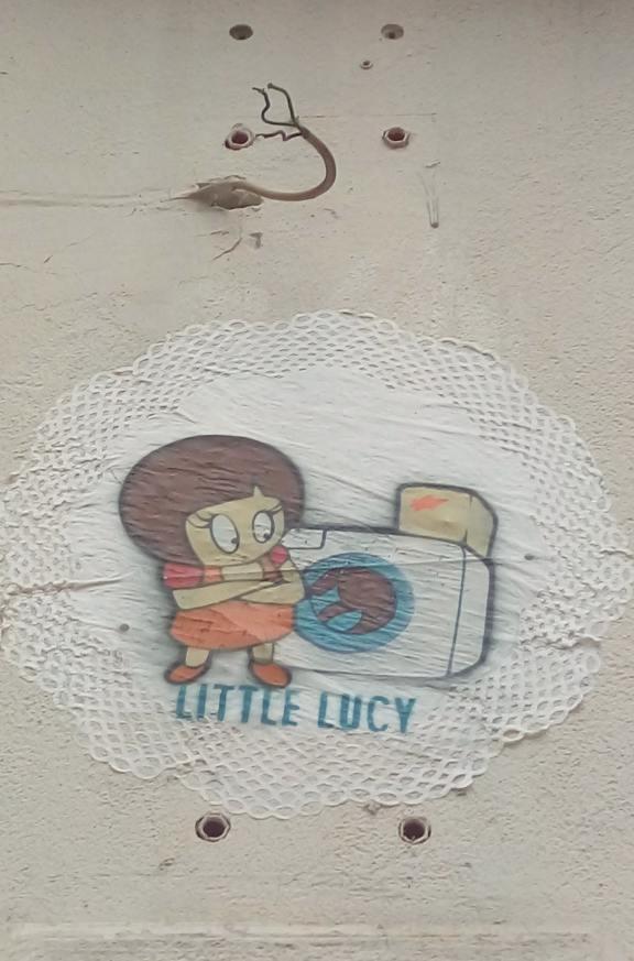 Little Lucy El Bocho street art berlin be kitschig blog