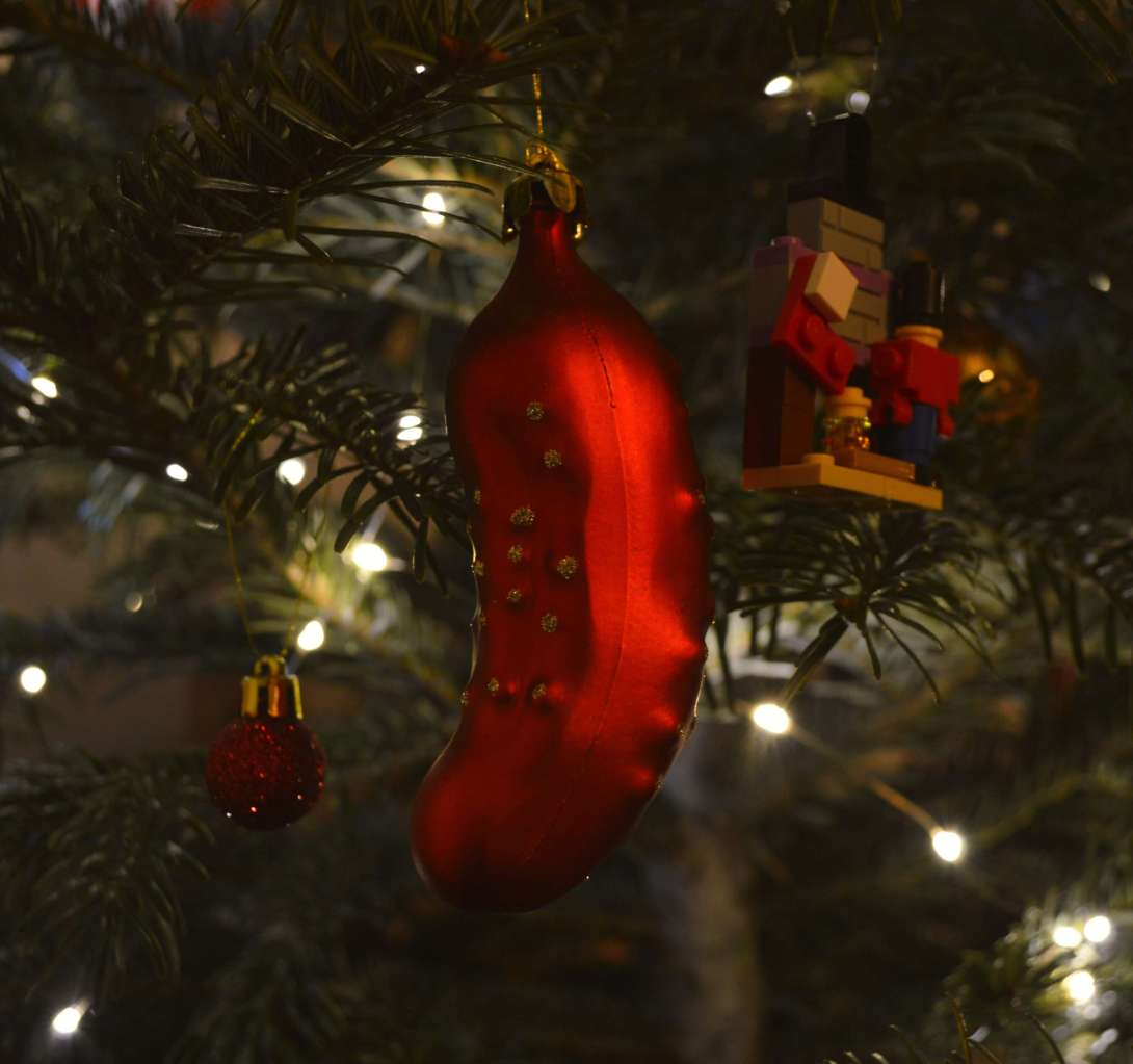 Be Kitschig Blog History of the Christmas Pickle Weihnachtsgurke