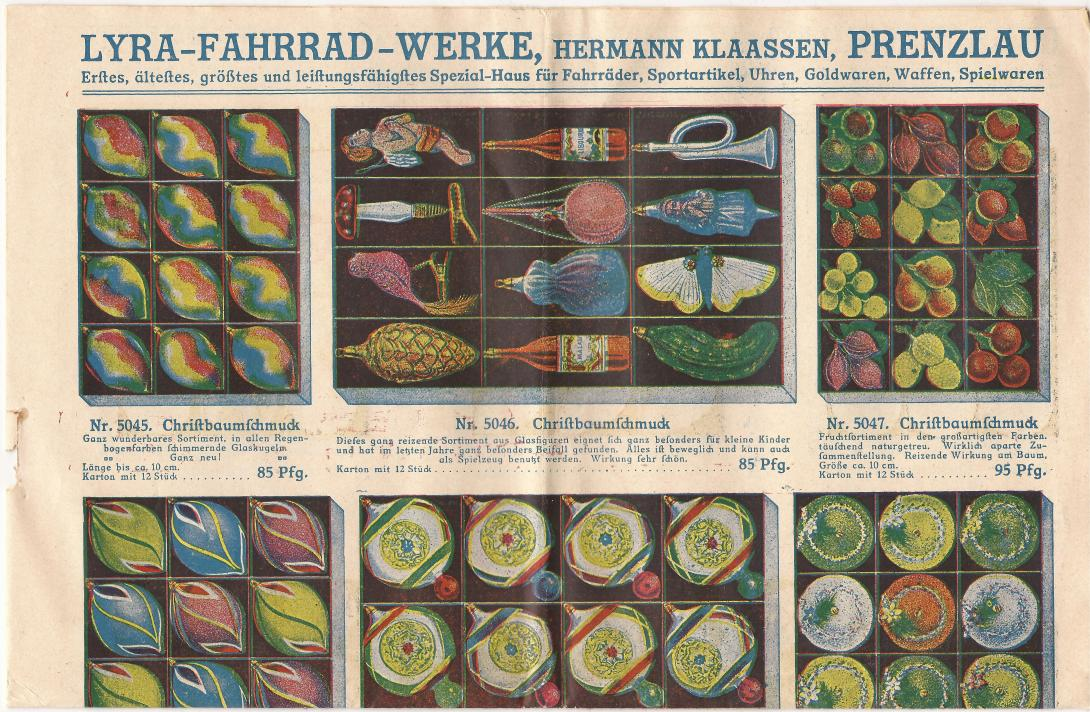 Scan by Lyra vintage catalog with Christmas pickle #weihnachtsgurke